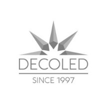 decoLED LED  bec, fasung  E27, roșu