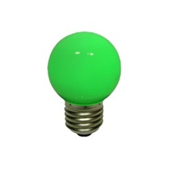 decoLED  bec, fasung  E27, verde, decoLED