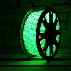 decoLED LED furtun luminos - verde, 50 m